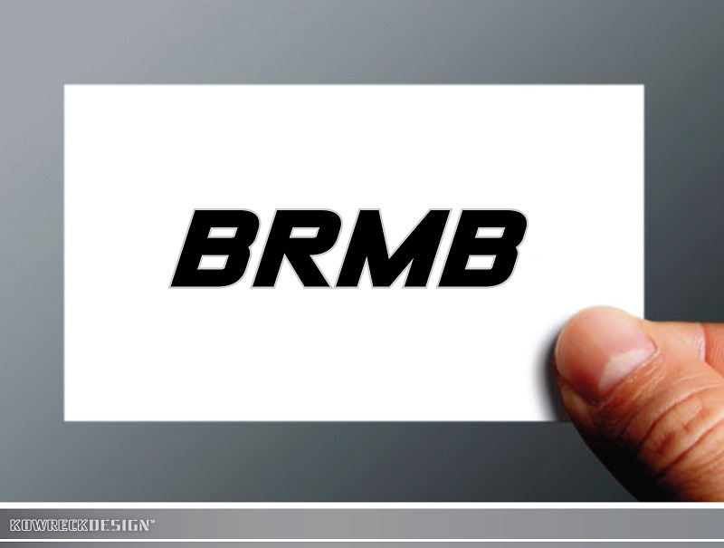 Logo Design by kowreck - Entry No. 30 in the Logo Design Contest Fun Logo Design for BRMB.