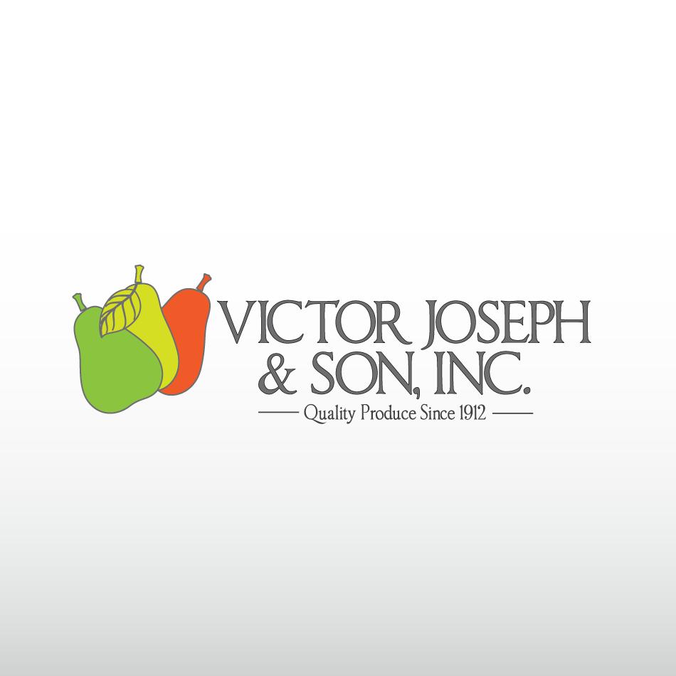 Logo Design by moonflower - Entry No. 131 in the Logo Design Contest Imaginative Logo Design for Victor Joseph & Son, Inc..