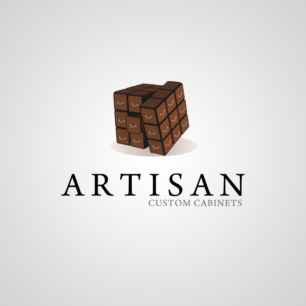 Logo Design by omARTist - Entry No. 219 in the Logo Design Contest Creative Logo Design for Artisan Custom Cabinets.