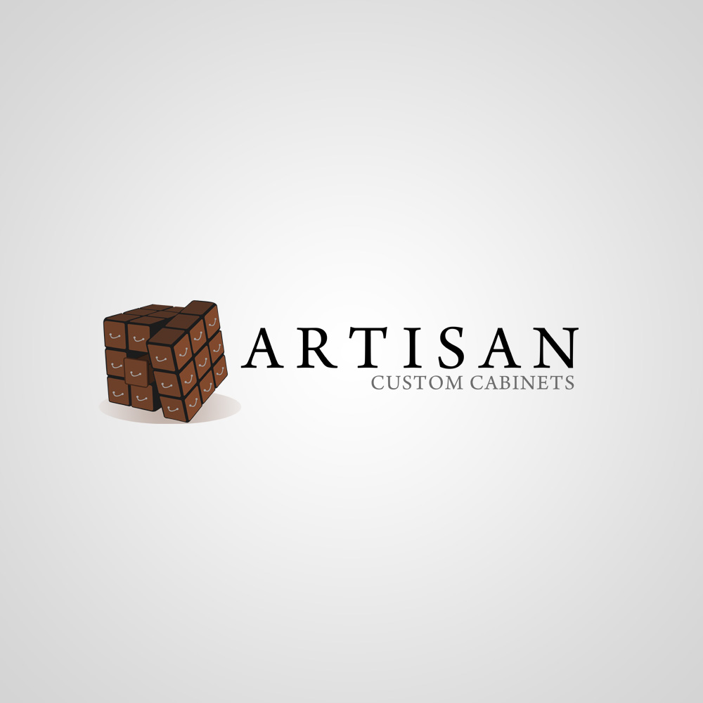 Logo Design by omARTist - Entry No. 220 in the Logo Design Contest Creative Logo Design for Artisan Custom Cabinets.