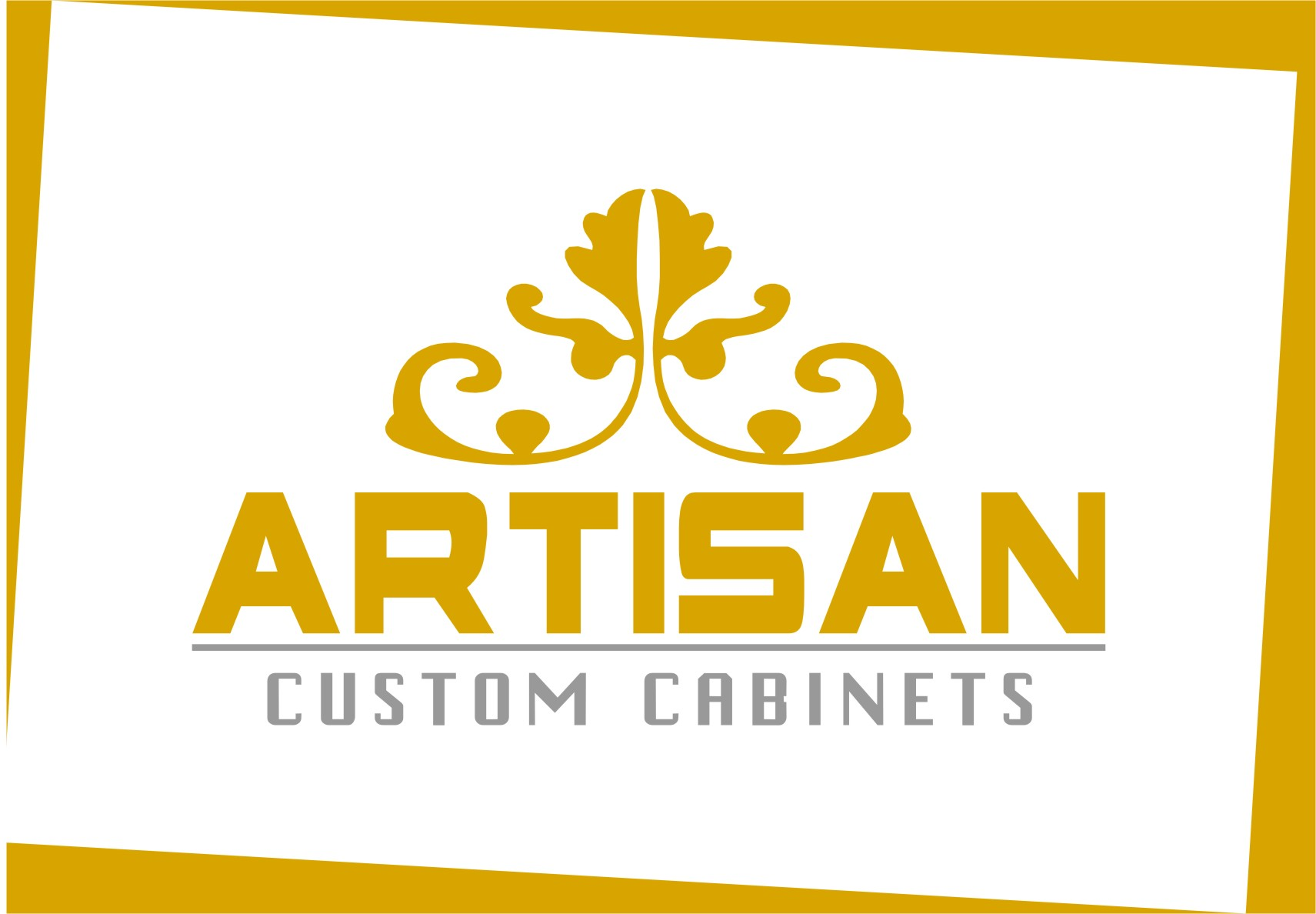 Logo Design by RasYa Muhammad Athaya - Entry No. 225 in the Logo Design Contest Creative Logo Design for Artisan Custom Cabinets.