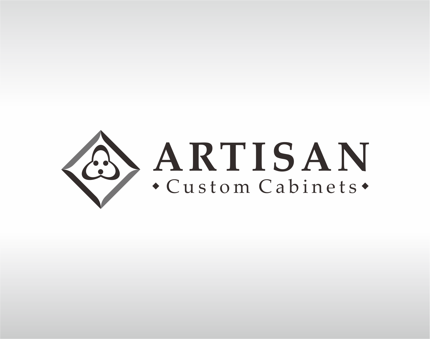 Logo Design by Armada Jamaluddin - Entry No. 226 in the Logo Design Contest Creative Logo Design for Artisan Custom Cabinets.