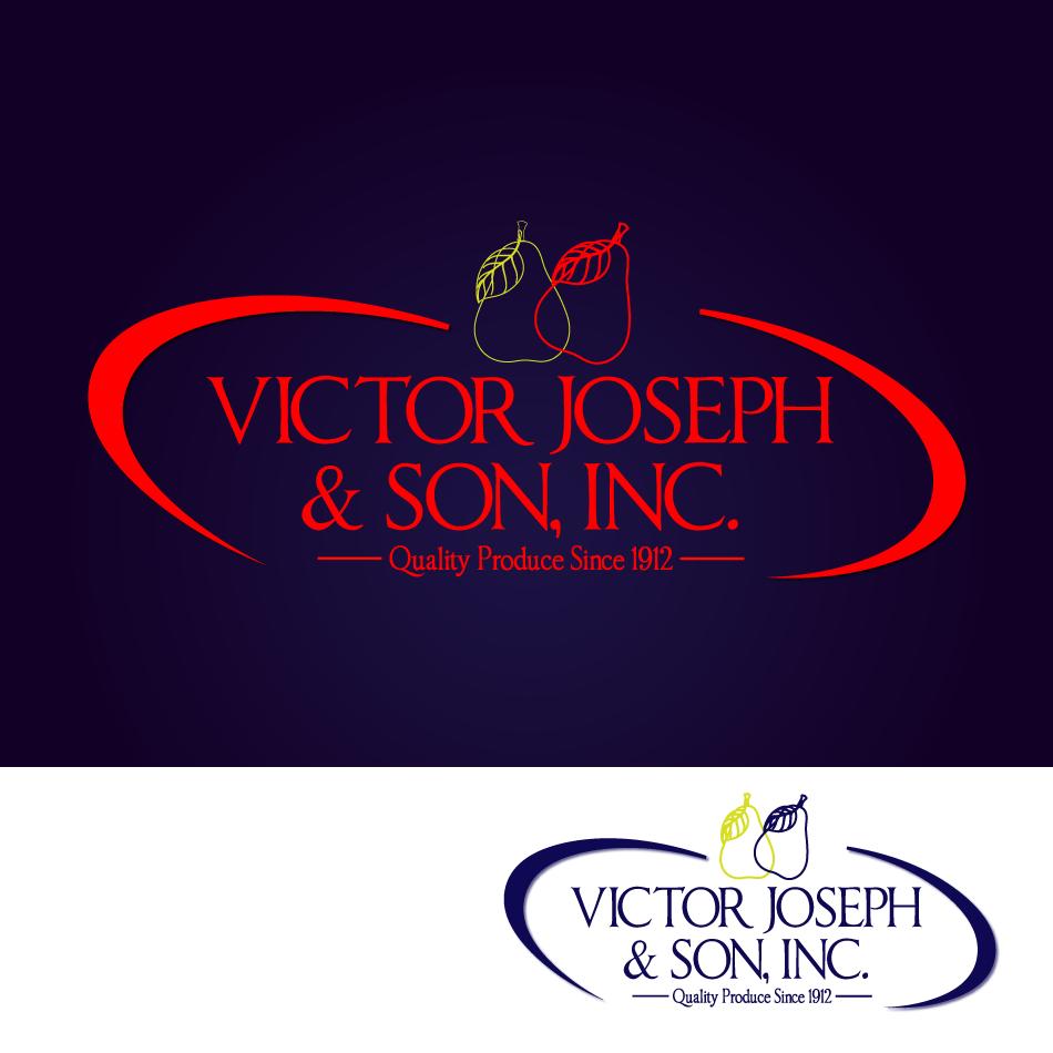 Logo Design by moonflower - Entry No. 139 in the Logo Design Contest Imaginative Logo Design for Victor Joseph & Son, Inc..