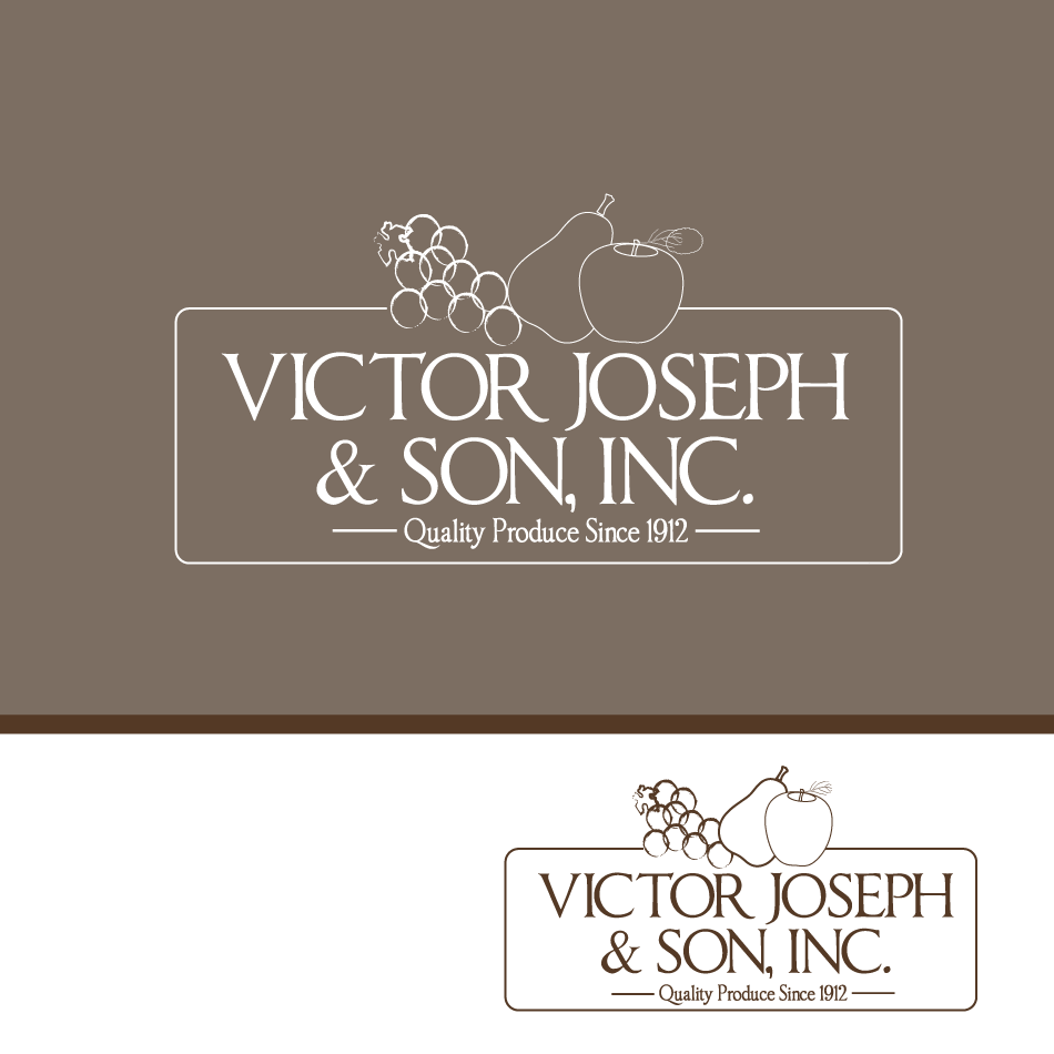 Logo Design by moonflower - Entry No. 141 in the Logo Design Contest Imaginative Logo Design for Victor Joseph & Son, Inc..