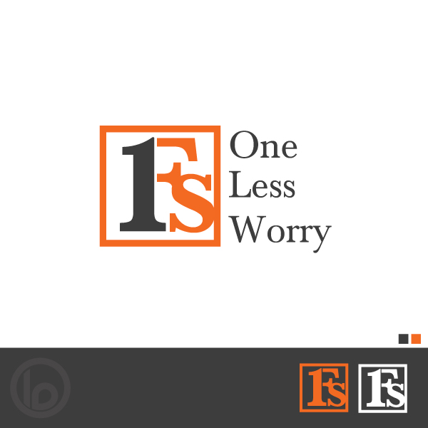 Logo Design by lumerb - Entry No. 64 in the Logo Design Contest Creative Logo Design for FS - One Less Worry.