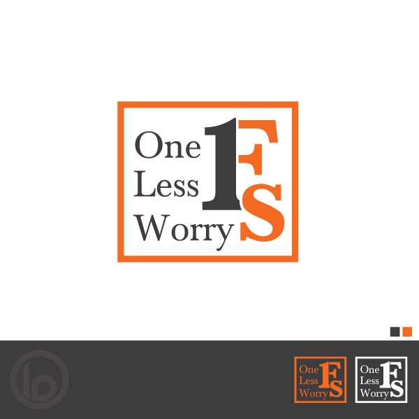 Logo Design by lumerb - Entry No. 65 in the Logo Design Contest Creative Logo Design for FS - One Less Worry.