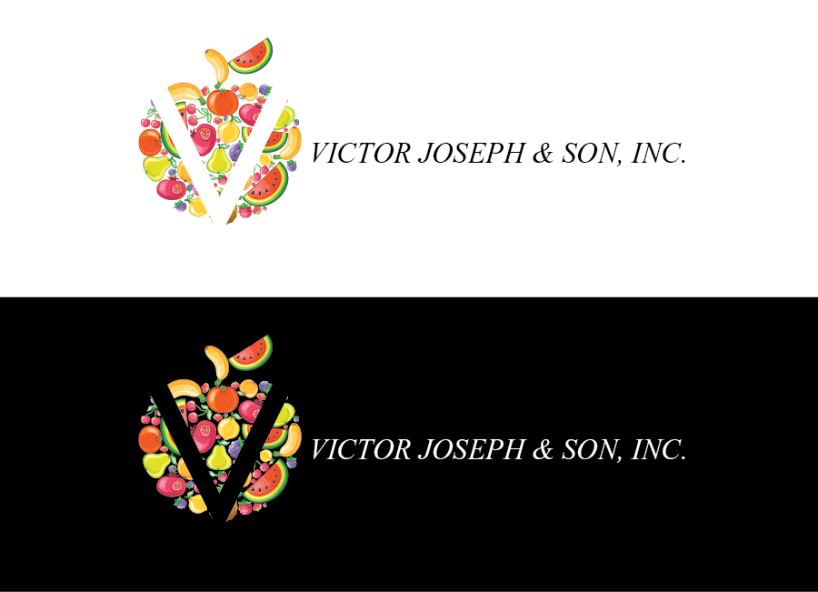 Logo Design by Muhammad Moinjaved - Entry No. 146 in the Logo Design Contest Imaginative Logo Design for Victor Joseph & Son, Inc..