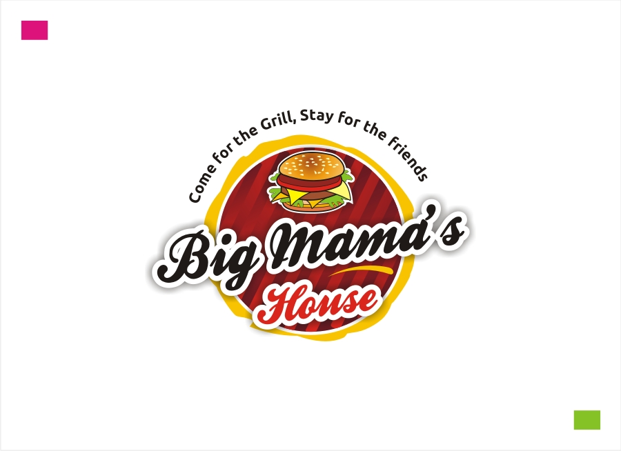 Logo Design by Private User - Entry No. 61 in the Logo Design Contest Captivating Logo Design for Big Mamma's House.