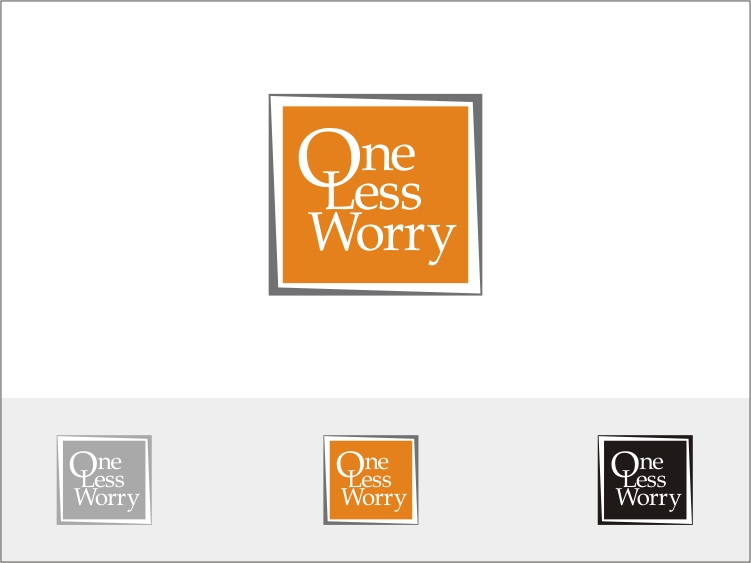 Logo Design by RED HORSE design studio - Entry No. 68 in the Logo Design Contest Creative Logo Design for FS - One Less Worry.