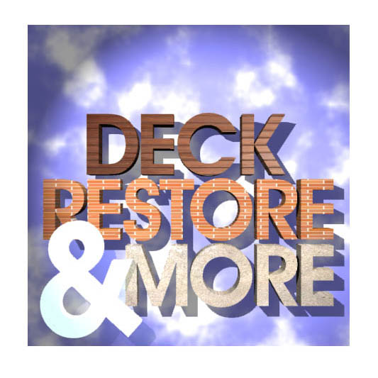 Logo Design by designoverload - Entry No. 27 in the Logo Design Contest Deck Restore & More.