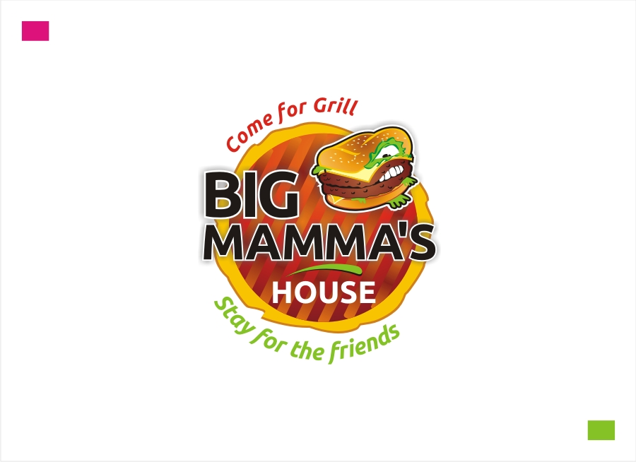Logo Design by Private User - Entry No. 64 in the Logo Design Contest Captivating Logo Design for Big Mamma's House.