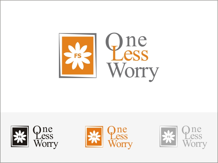 Logo Design by RED HORSE design studio - Entry No. 69 in the Logo Design Contest Creative Logo Design for FS - One Less Worry.