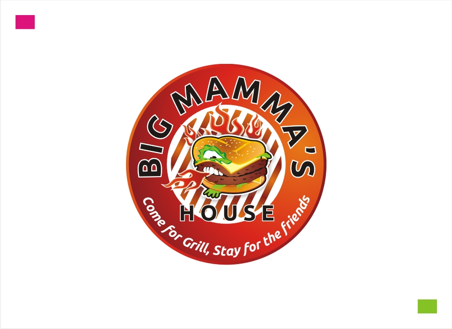 Logo Design by Private User - Entry No. 65 in the Logo Design Contest Captivating Logo Design for Big Mamma's House.