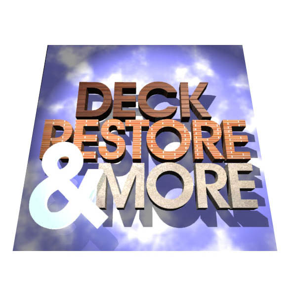 Logo Design by designoverload - Entry No. 28 in the Logo Design Contest Deck Restore & More.
