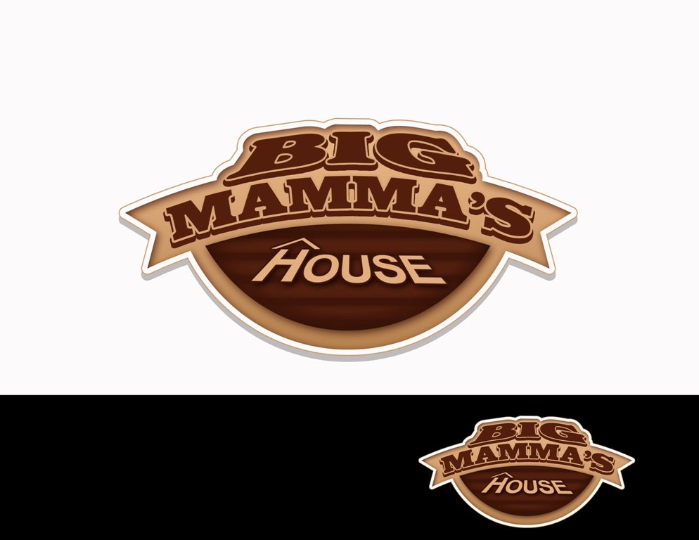 Logo Design by Juan_Kata - Entry No. 66 in the Logo Design Contest Captivating Logo Design for Big Mamma's House.