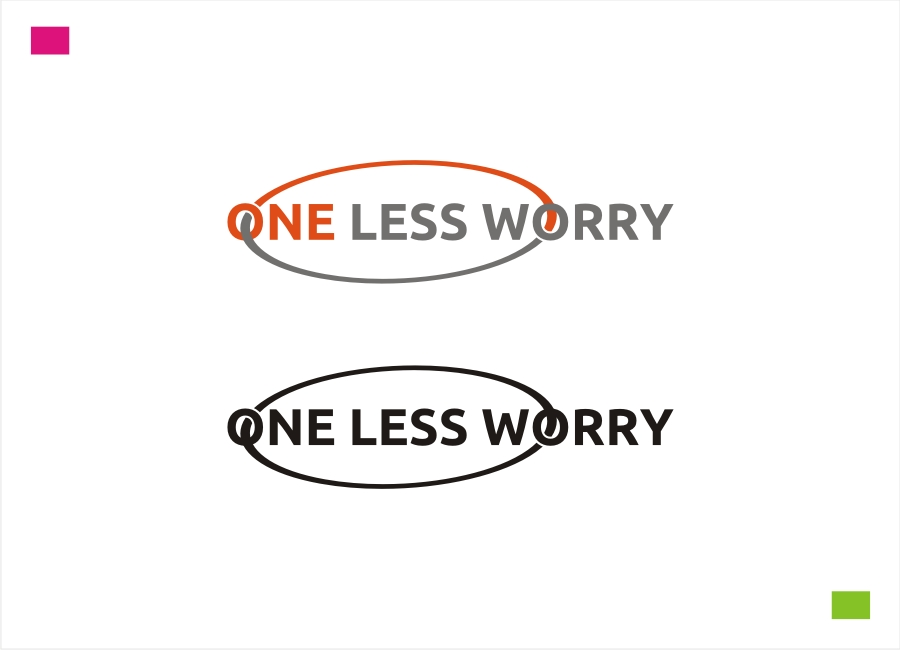 Logo Design by Private User - Entry No. 71 in the Logo Design Contest Creative Logo Design for FS - One Less Worry.