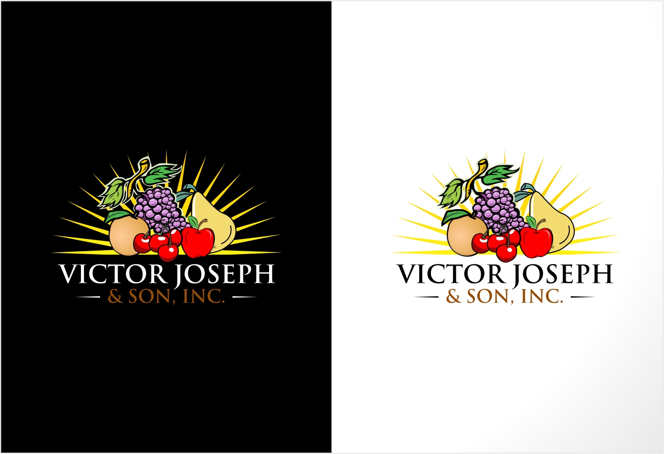Logo Design by haidu - Entry No. 160 in the Logo Design Contest Imaginative Logo Design for Victor Joseph & Son, Inc..