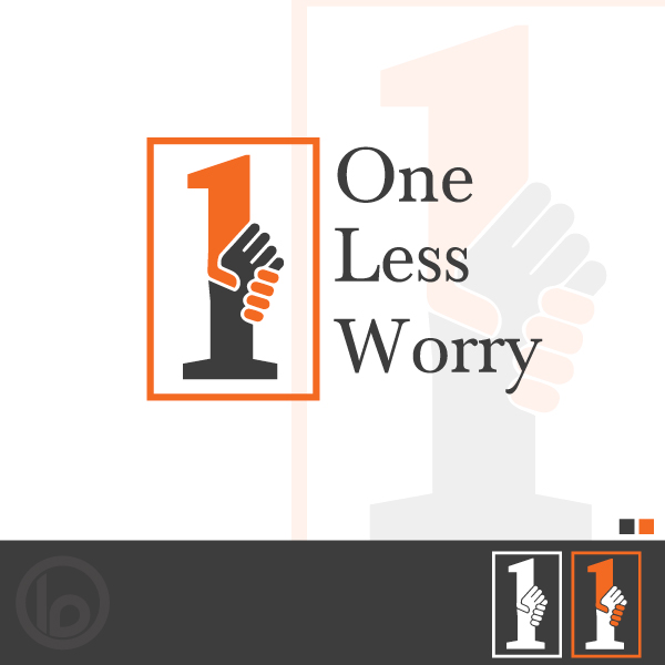 Logo Design by lumerb - Entry No. 74 in the Logo Design Contest Creative Logo Design for FS - One Less Worry.