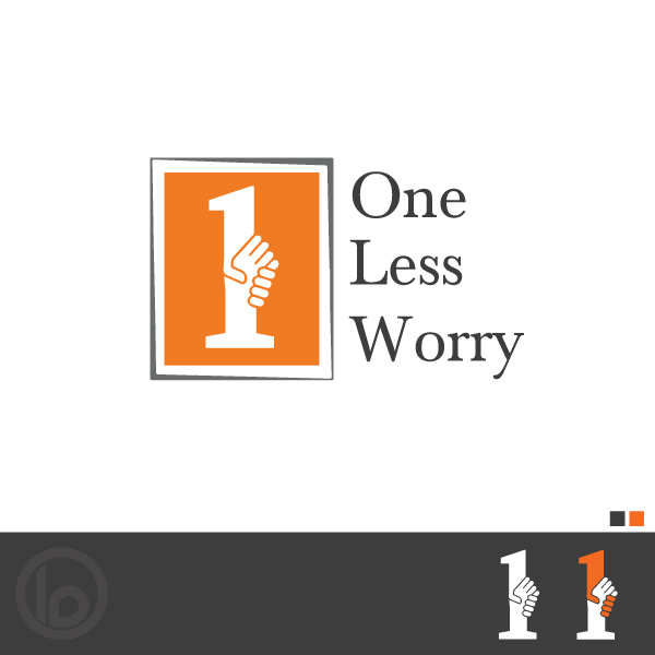 Logo Design by lumerb - Entry No. 75 in the Logo Design Contest Creative Logo Design for FS - One Less Worry.