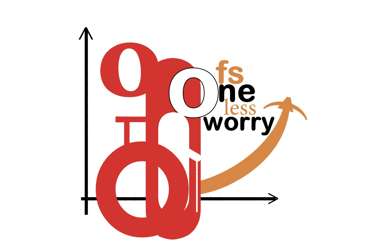 Logo Design by Ashes Di jerry - Entry No. 78 in the Logo Design Contest Creative Logo Design for FS - One Less Worry.