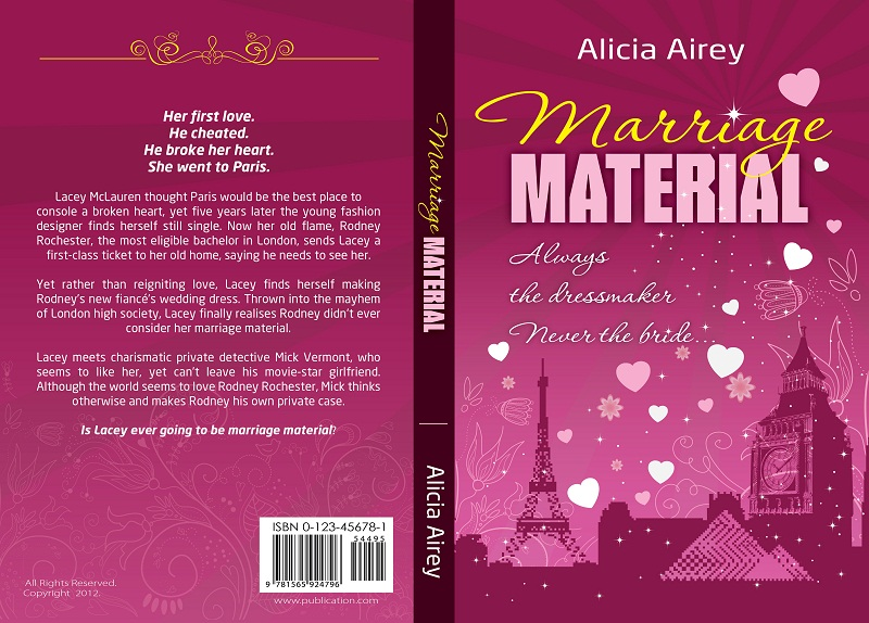 Book Cover Design by kowreck - Entry No. 30 in the Book Cover Design Contest Book Cover Design for Chic Lit Novel: Marriage Material.