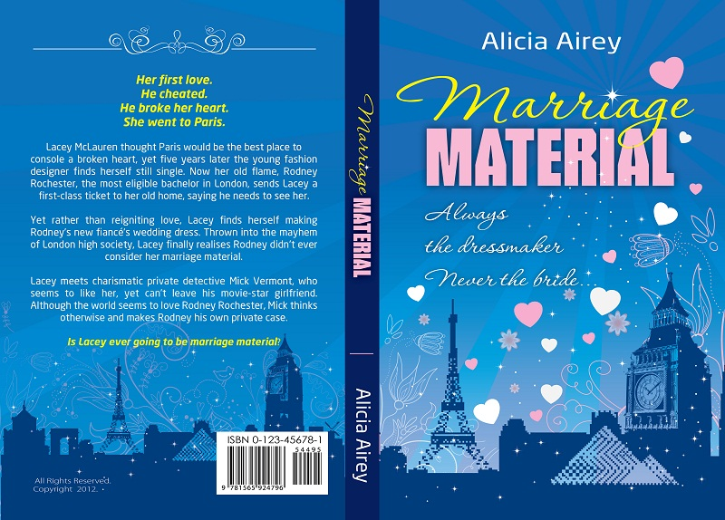 Book Cover Design by kowreck - Entry No. 32 in the Book Cover Design Contest Book Cover Design for Chic Lit Novel: Marriage Material.