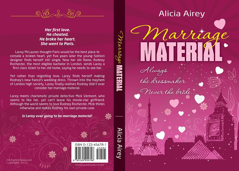 Book Cover Design by kowreck - Entry No. 33 in the Book Cover Design Contest Book Cover Design for Chic Lit Novel: Marriage Material.