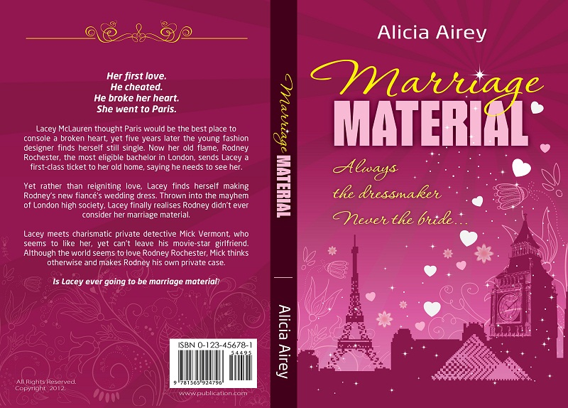 Book Cover Design by kowreck - Entry No. 36 in the Book Cover Design Contest Book Cover Design for Chic Lit Novel: Marriage Material.