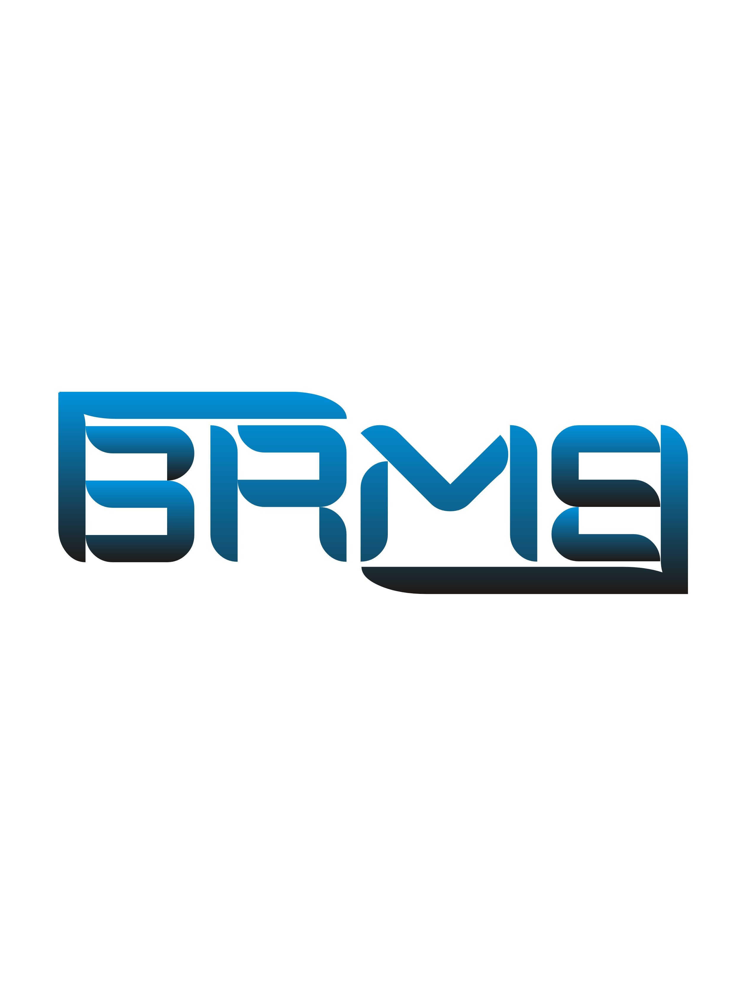 Logo Design by RadenMas JoyoDinengrat - Entry No. 49 in the Logo Design Contest Fun Logo Design for BRMB.