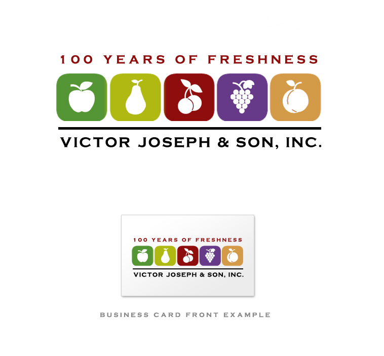 Logo Design by elmd - Entry No. 164 in the Logo Design Contest Imaginative Logo Design for Victor Joseph & Son, Inc..