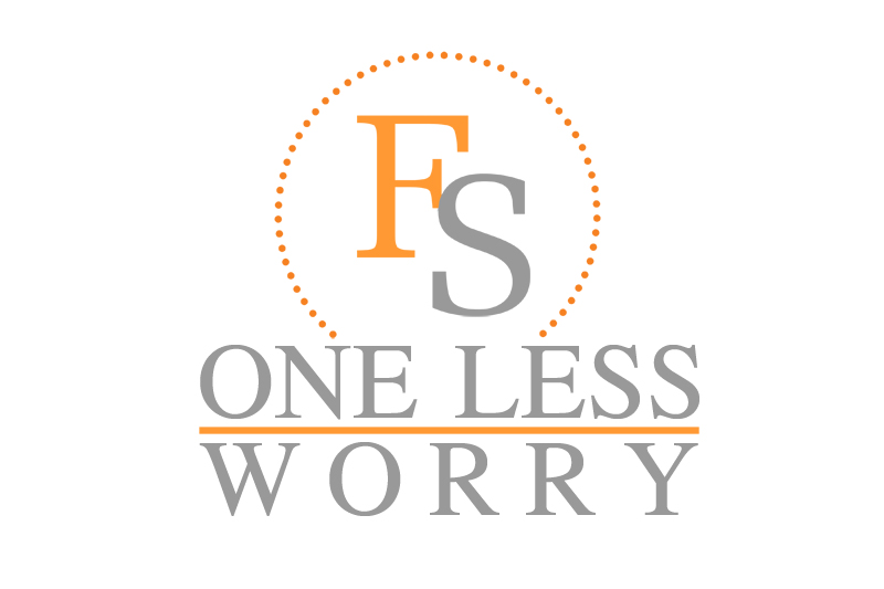 Logo Design by Private User - Entry No. 84 in the Logo Design Contest Creative Logo Design for FS - One Less Worry.