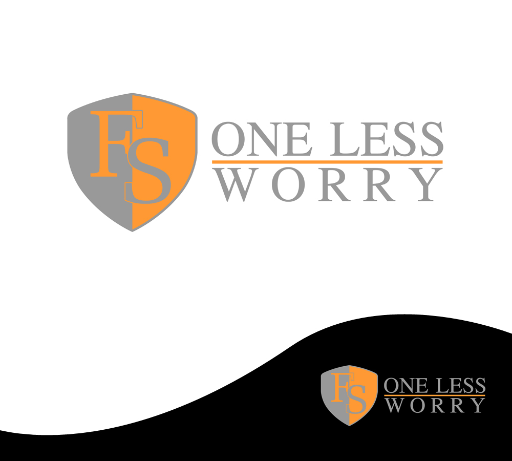 Logo Design by Private User - Entry No. 86 in the Logo Design Contest Creative Logo Design for FS - One Less Worry.