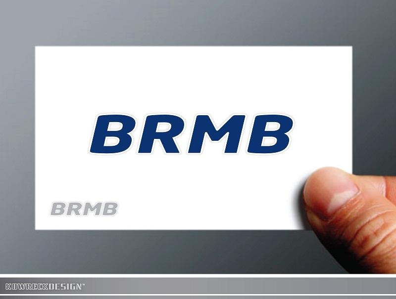 Logo Design by kowreck - Entry No. 57 in the Logo Design Contest Fun Logo Design for BRMB.
