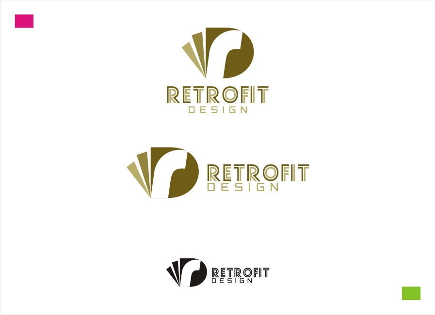 Logo Design by Private User - Entry No. 6 in the Logo Design Contest Inspiring Logo Design for retrofit design.