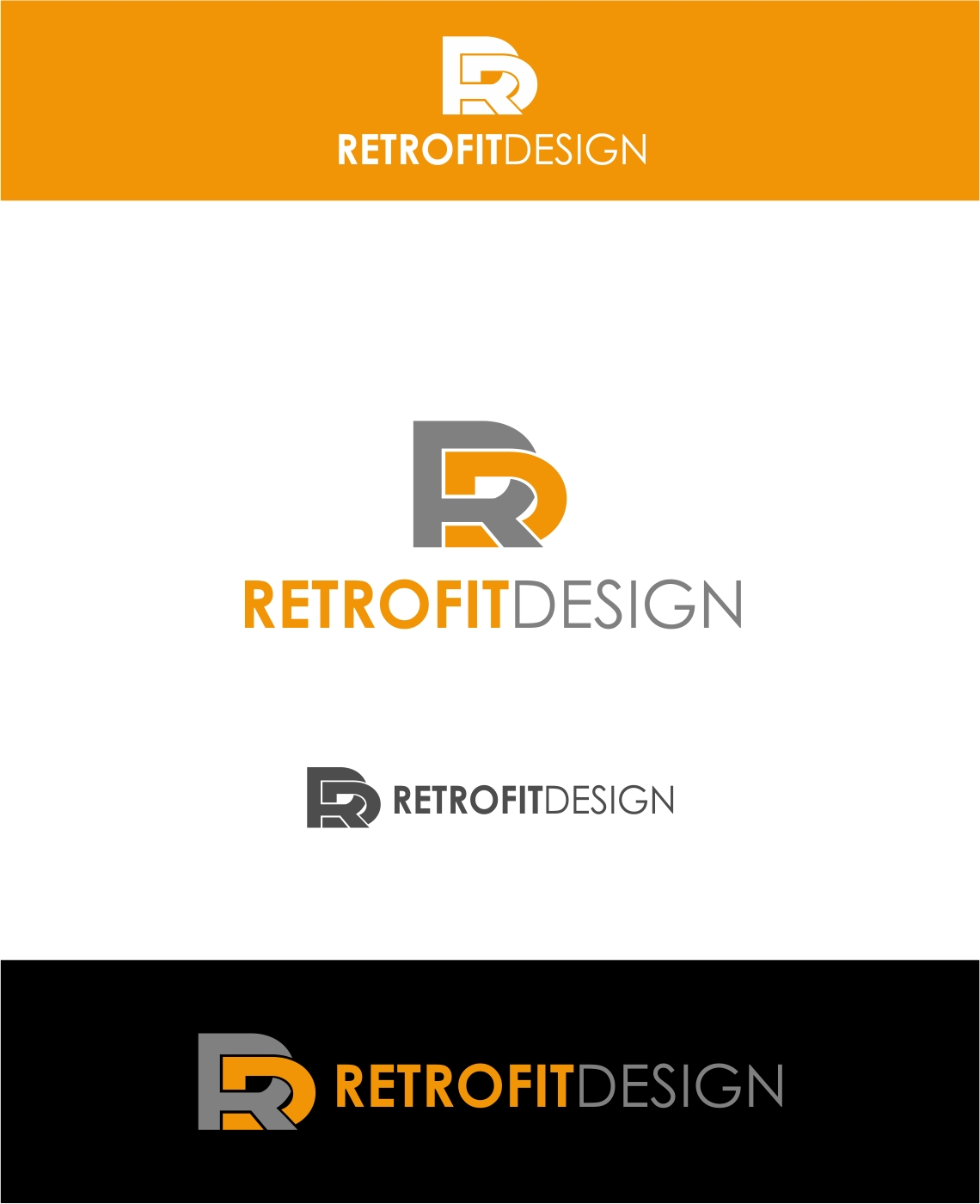 Logo Design by haidu - Entry No. 11 in the Logo Design Contest Inspiring Logo Design for retrofit design.