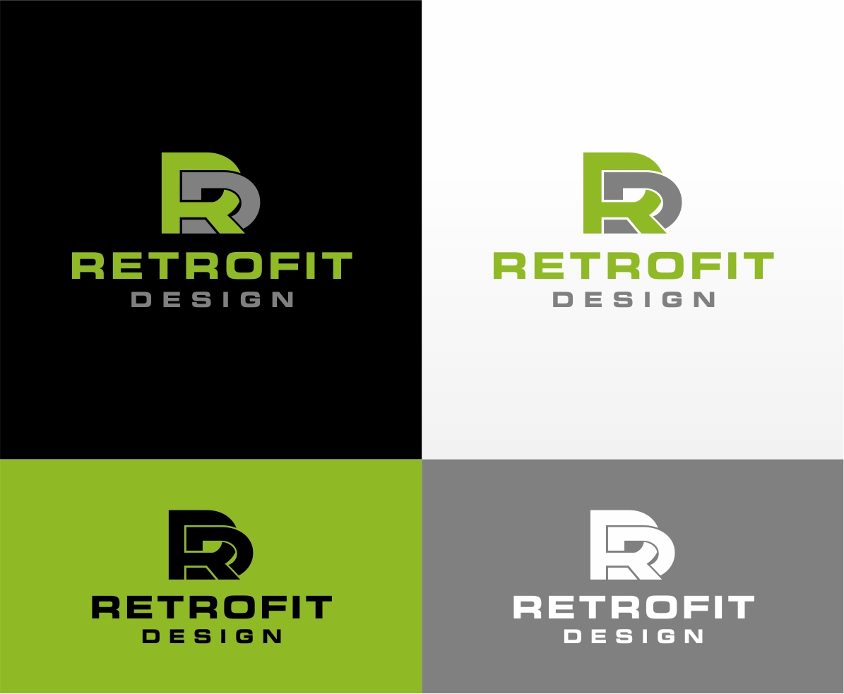 Logo Design by haidu - Entry No. 12 in the Logo Design Contest Inspiring Logo Design for retrofit design.