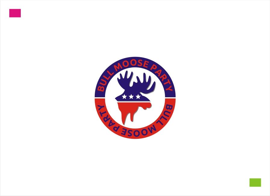 Logo Design by Private User - Entry No. 46 in the Logo Design Contest Progressive Bull Moose Party Logo Design.