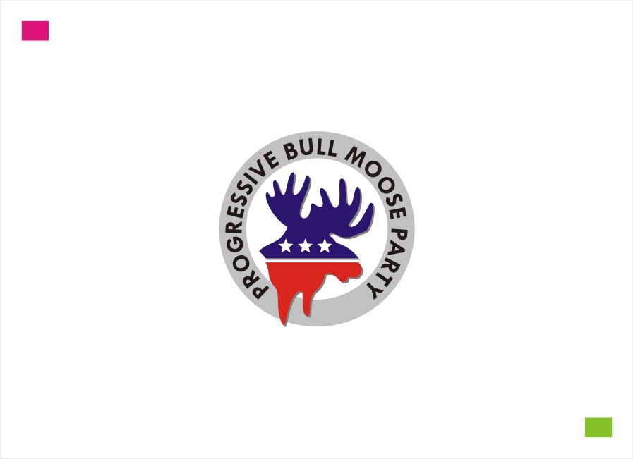 Logo Design by Private User - Entry No. 47 in the Logo Design Contest Progressive Bull Moose Party Logo Design.