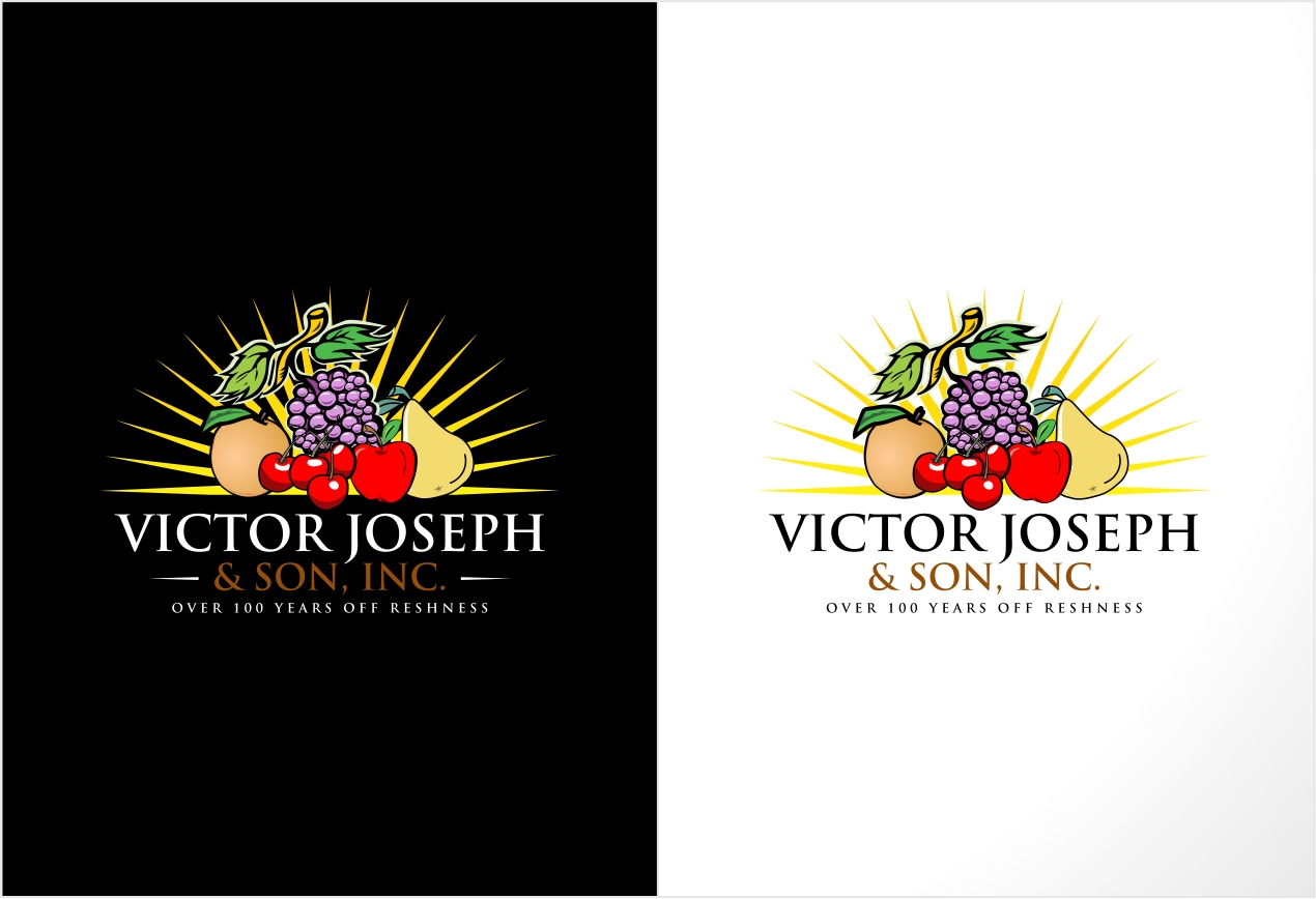 Logo Design by haidu - Entry No. 174 in the Logo Design Contest Imaginative Logo Design for Victor Joseph & Son, Inc..