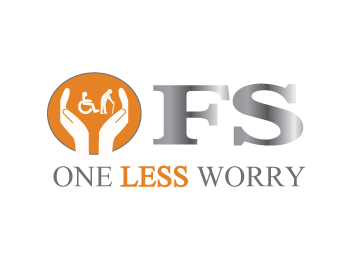 Logo Design by Nadia Khan - Entry No. 104 in the Logo Design Contest Creative Logo Design for FS - One Less Worry.