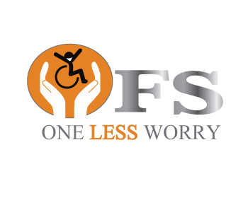 Logo Design by Nadia Khan - Entry No. 105 in the Logo Design Contest Creative Logo Design for FS - One Less Worry.