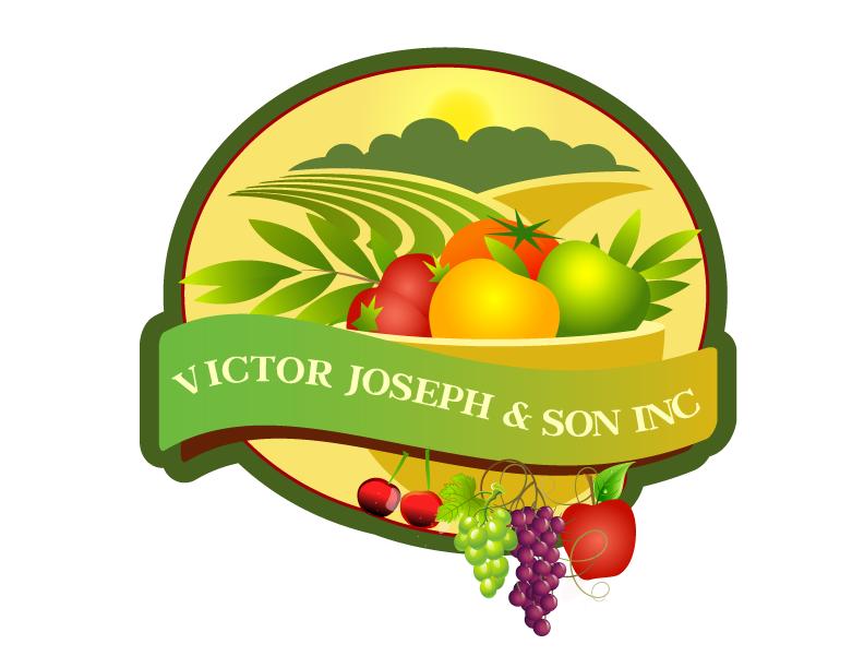 Logo Design by Nadia Khan - Entry No. 176 in the Logo Design Contest Imaginative Logo Design for Victor Joseph & Son, Inc..
