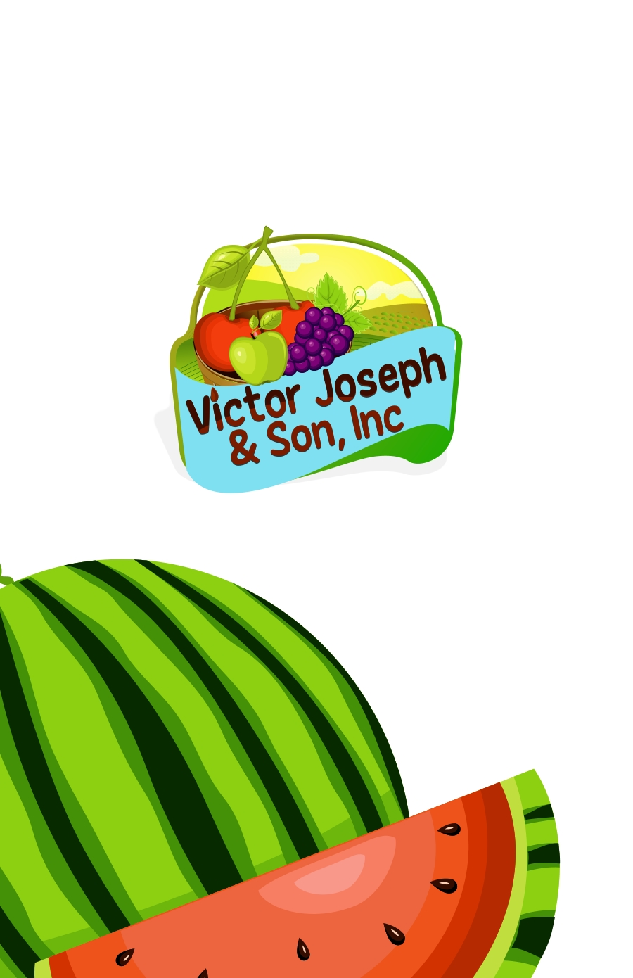 Logo Design by Private User - Entry No. 177 in the Logo Design Contest Imaginative Logo Design for Victor Joseph & Son, Inc..