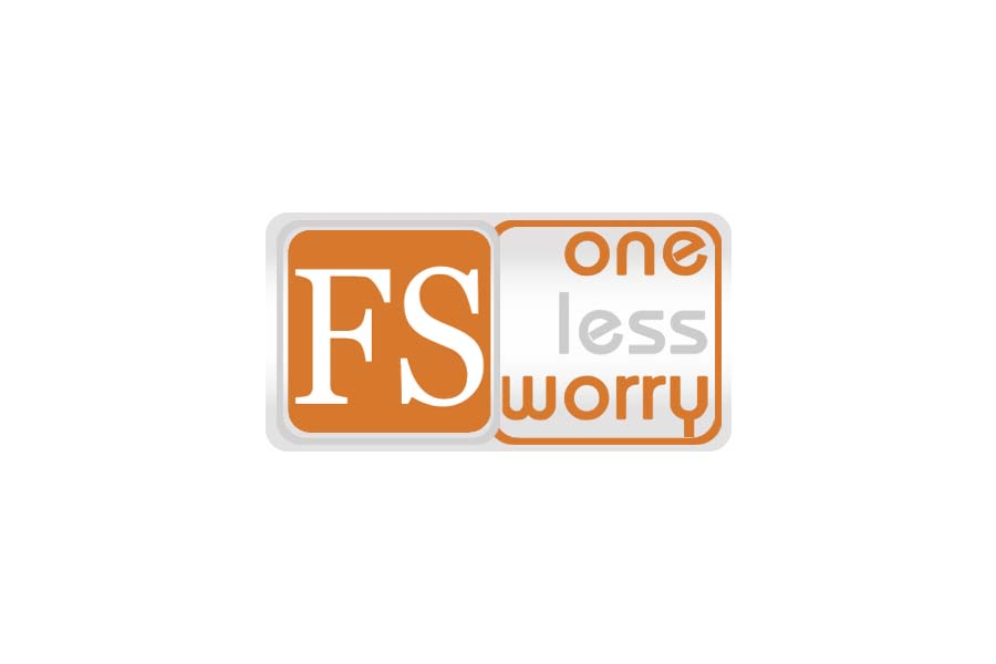 Logo Design by Private User - Entry No. 107 in the Logo Design Contest Creative Logo Design for FS - One Less Worry.
