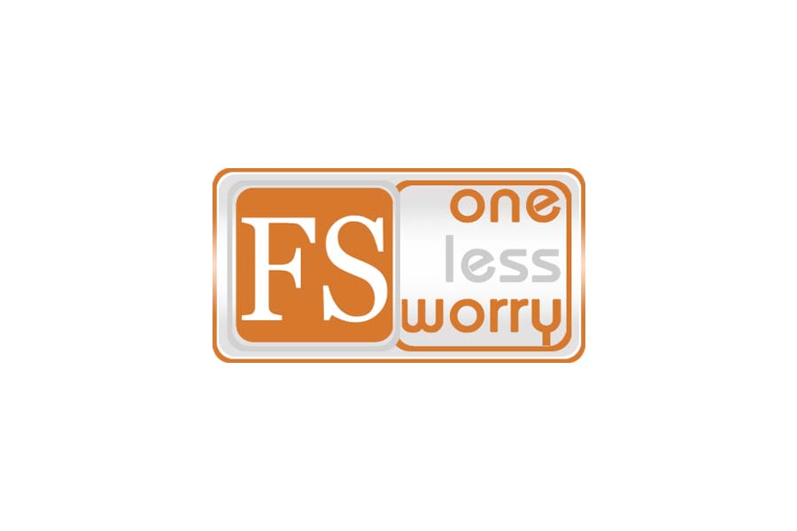 Logo Design by Private User - Entry No. 108 in the Logo Design Contest Creative Logo Design for FS - One Less Worry.