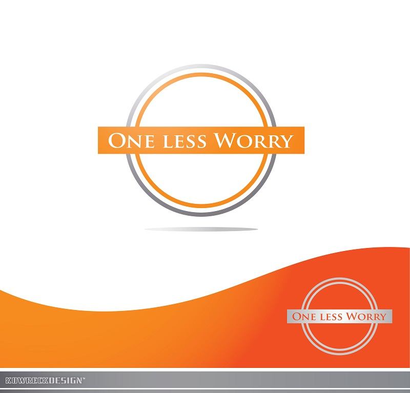 Logo Design by kowreck - Entry No. 112 in the Logo Design Contest Creative Logo Design for FS - One Less Worry.