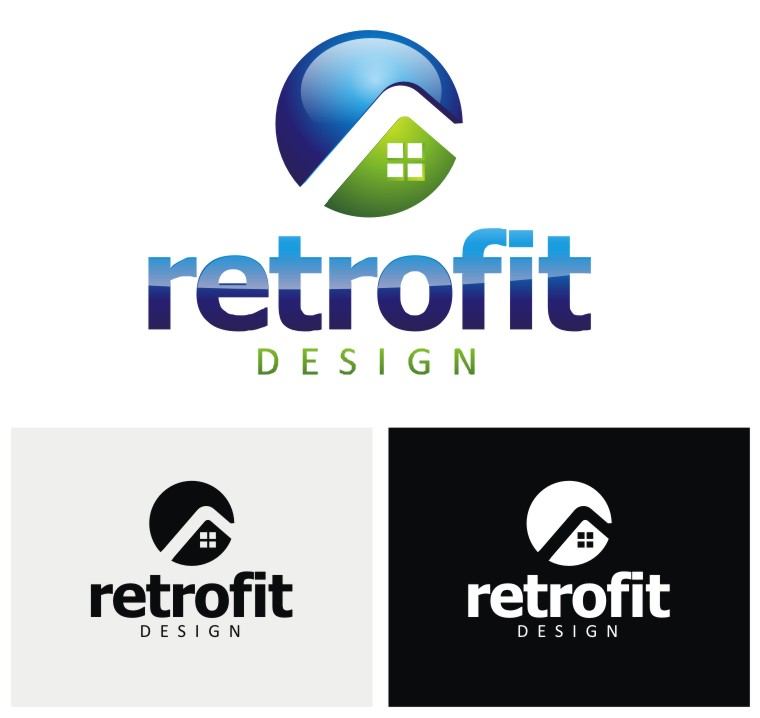 Logo Design by Reivan Ferdinan - Entry No. 21 in the Logo Design Contest Inspiring Logo Design for retrofit design.