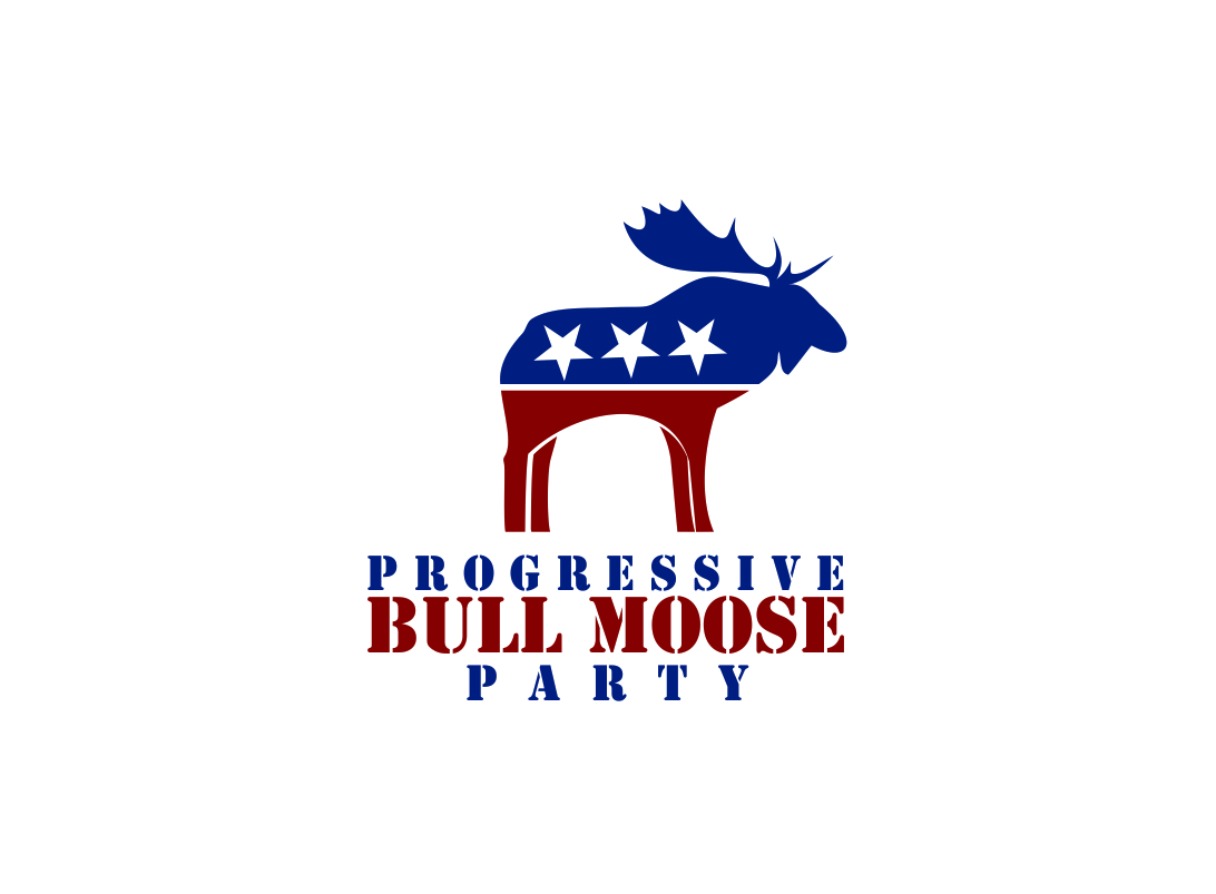Logo Design by Zdravko Krulj - Entry No. 52 in the Logo Design Contest Progressive Bull Moose Party Logo Design.