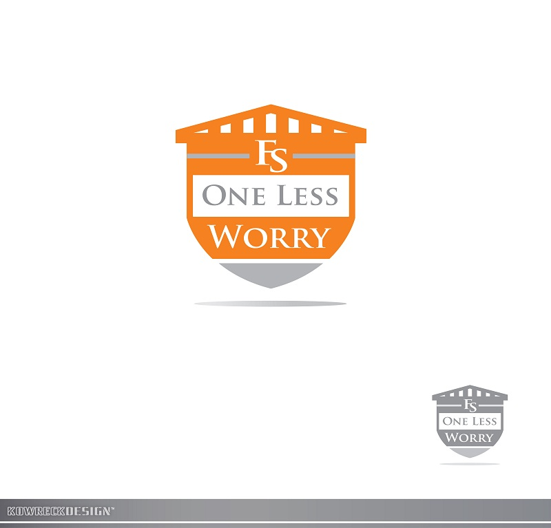 Logo Design by kowreck - Entry No. 117 in the Logo Design Contest Creative Logo Design for FS - One Less Worry.