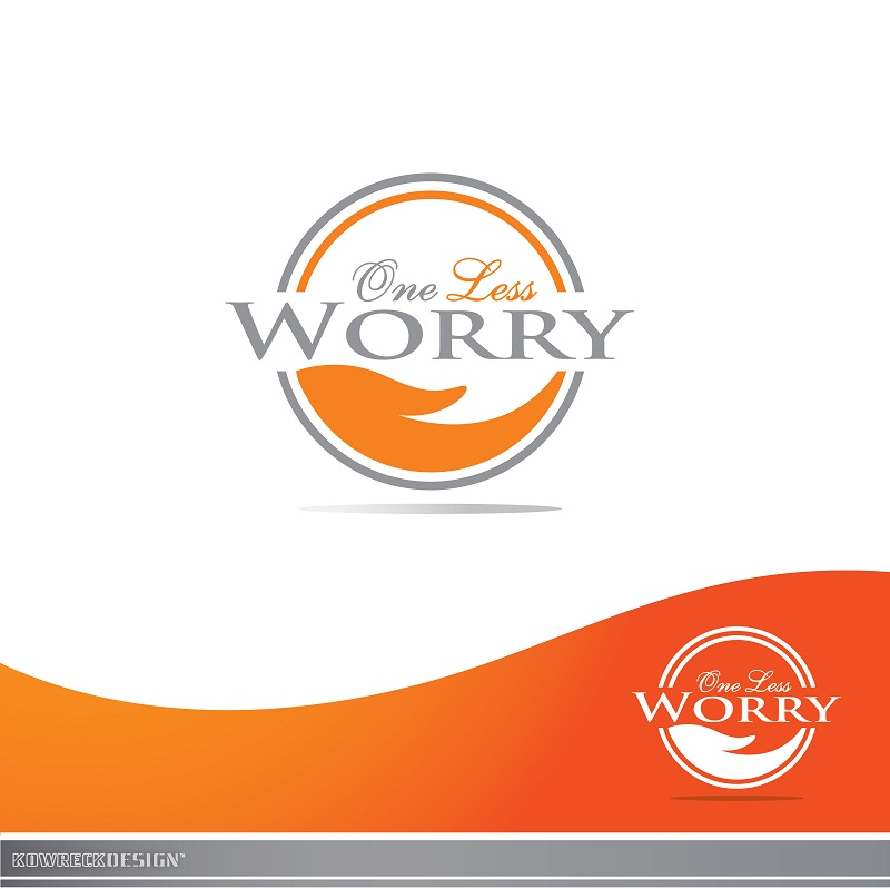Logo Design by kowreck - Entry No. 119 in the Logo Design Contest Creative Logo Design for FS - One Less Worry.